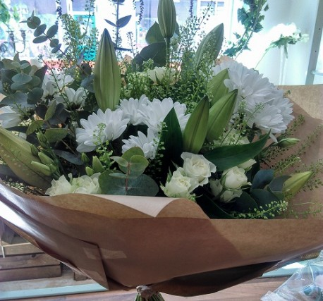 Evelyn Gorgeous Fresh Hand Tied
