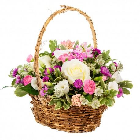 Happy Thoughts - Basket Arrangement