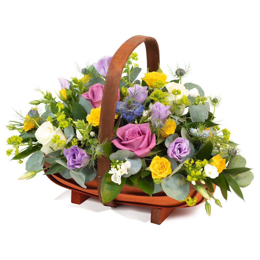 All Aboard - Basket Arrangement