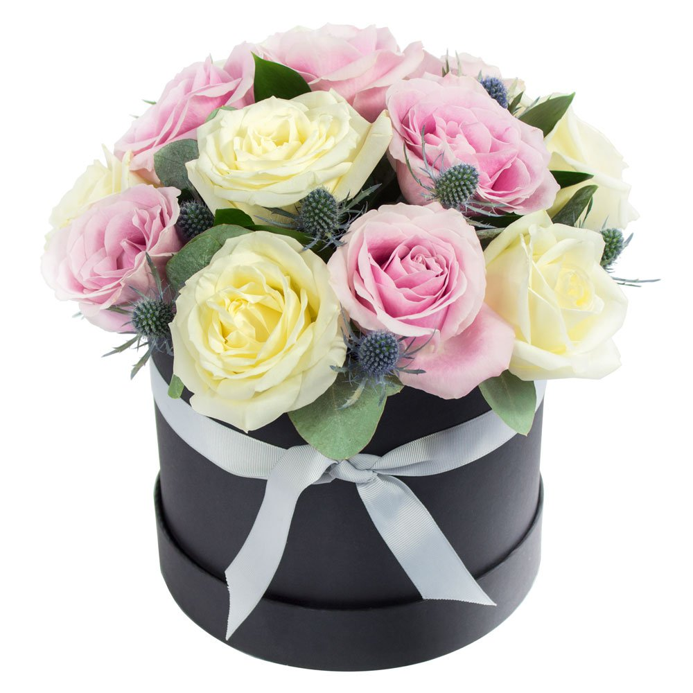 Grace Hat Box Arrangment