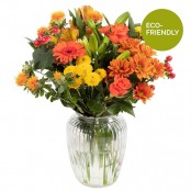 Orange Sky Vase Arrangement